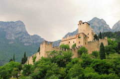 Avio Castello di Sabbionara Stock Photos