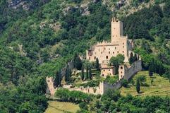 Avio Castello di Sabbionara Stock Photo