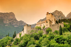 Avio Castello di Sabbionara Royalty Free Stock Image