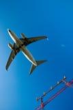 Avião comercial Imagens de Stock Royalty Free