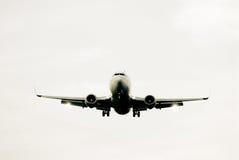 Avião da aterragem Fotografia de Stock