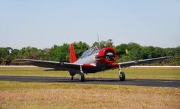 Avião da era da segunda guerra mundial Foto de Stock