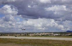 Avião de passageiros 011 Imagem de Stock
