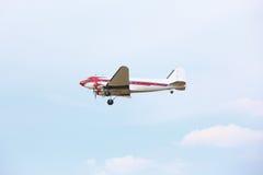 Avião no céu Foto de Stock Royalty Free