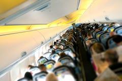 Avion à l'intérieur Image stock