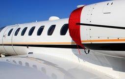 Avion à réaction d'affaires Photo stock