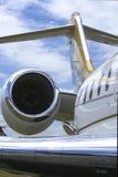 Avion à réaction d'affaires Photographie stock libre de droits