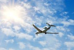 Avion à réaction d'affaires Photos stock