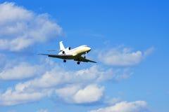 Avion à réaction d'affaires Images libres de droits