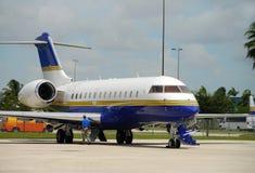 Avion à réaction de charte de VIP Image libre de droits