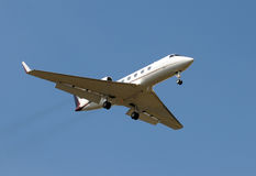 Avion à réaction de corporation image libre de droits