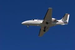 Avion à réaction de corporation photographie stock libre de droits