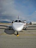 Avion à réaction de corporation Photographie stock