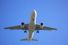 Avion à réaction de deux engines Images stock