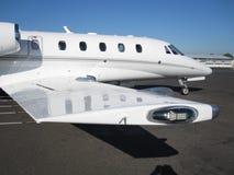 avion à réaction de directeur d'aéronefs Image libre de droits