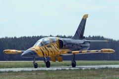 Avion à réaction de formation Photos stock
