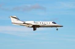 Avion à réaction de luxe Image libre de droits