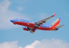 Avion à réaction de Southwest Airlines Boeing 737 Photo stock