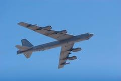 Avion à réaction du bombardier B-52 photographie stock libre de droits