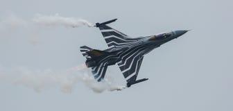 Avion à réaction F-16 Photo stock