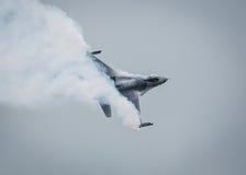 Avion à réaction F-16 Image stock