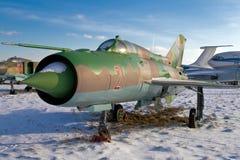 Avion à réaction militaire Photos libres de droits