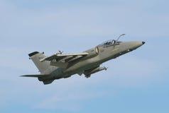 Avion à réaction militaire Photographie stock