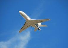 Avion à réaction moderne d'affaires photographie stock libre de droits