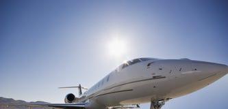 avion à réaction personnel Image stock