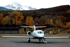 Avion à réaction prêt Photo stock