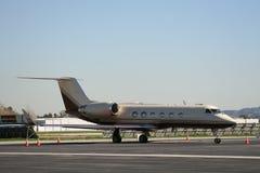 Avion à réaction privé. Images stock