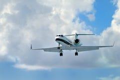 Avion à réaction privé d'entreprise constituée en société Images libres de droits