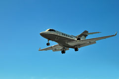 Avion à réaction privé d'entreprise constituée en société Photographie stock libre de droits