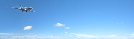 Avion à réaction privé de luxe Photographie stock libre de droits