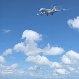Avion à réaction privé de luxe Images stock