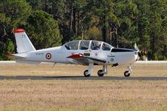 Avion-école militaire français epsilon de Socata TB-30 Photos libres de droits