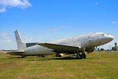 Avion abandonné par cru Image libre de droits