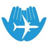 Avion absent Images libres de droits