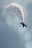 Avion acrobatique Image libre de droits