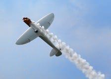 Avion acrobatique aérien de tornade Photographie stock libre de droits