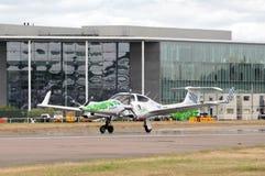 Avion actionné par algues Image libre de droits