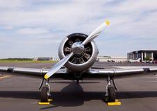 Avion américain du Texan AT-6 Image stock