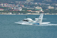 Avion amphibie de Beriev Be-103 Image stock