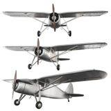 Avion antique de combat photographie stock libre de droits