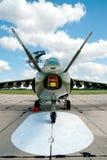 Avion-attaque moderne de jet Photos stock