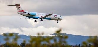 Avion autrichien de flèche Photos stock