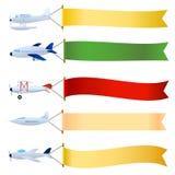 Avion avec le positionnement blanc illustration de vecteur