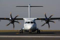 Avion blanc Photos libres de droits