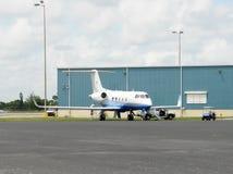 Avion d'affaires moderne photos libres de droits