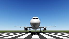Avion d'air Photographie stock